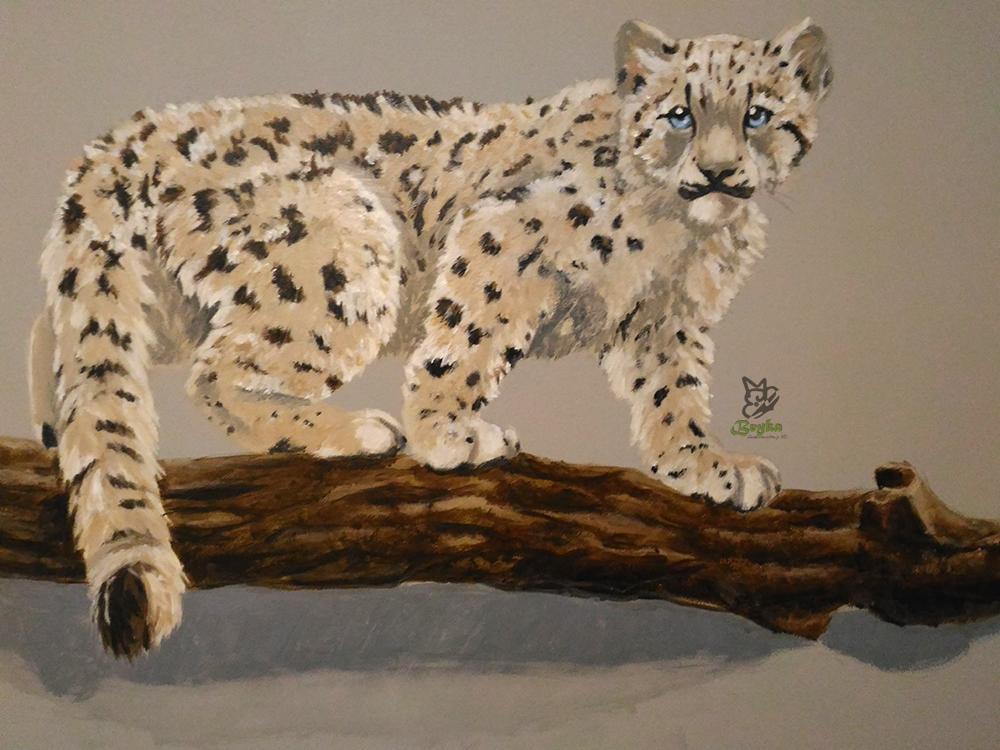 Detalle del leopardo